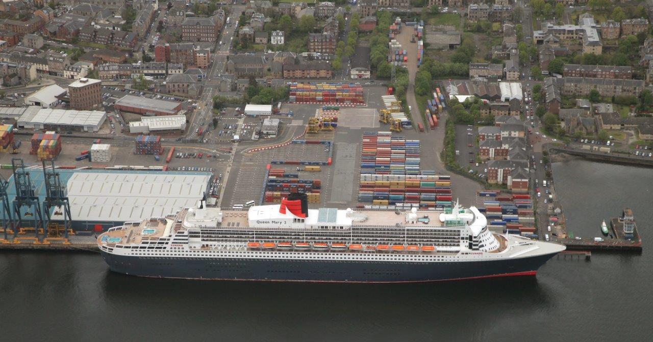 Scotlands Greenock Cruise Port Receives MultiMillion Pound - Cruise ships at greenock