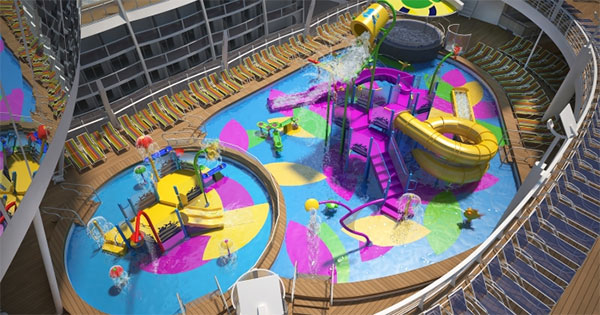 Harmony Of The Seas To Debut Kids Water Park