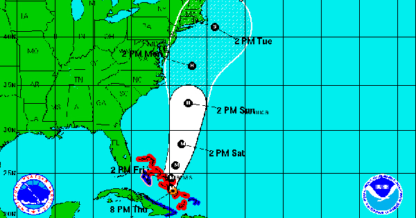 Hurricane Joaquin Affects Cruise Itineraries