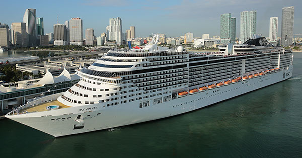 Image result for MSC seaside in Miami Port