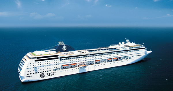 MSC Cruises To Base Cruise Ship In China For First Time MSC Cruises - Chinese cruise ship