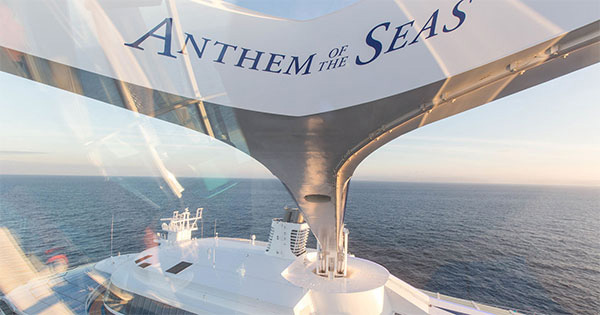 Anthem Of The Seas Arrives In The US Royal Caribbean International - Cruise ships from new jersey