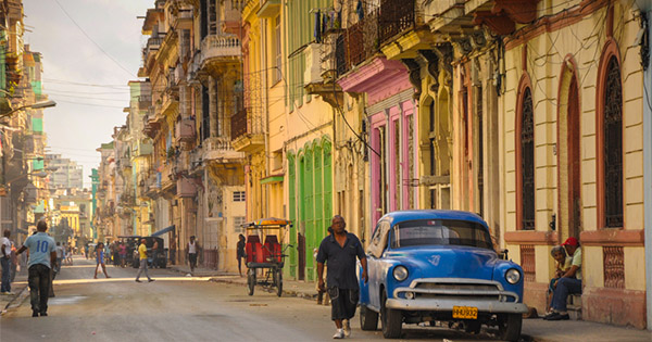 Cruise line executives envision daily port stops in cubas havana side street in havana cuba stopboris Gallery