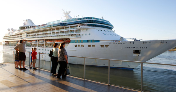 Royal Caribbean Pulls Out Of Brisbane Four Cruise Ships