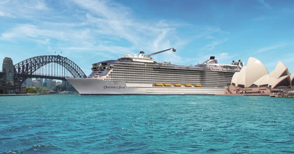 ovation of the seas to add four cruises to maiden