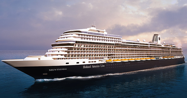 Holland America Line Releases Name For Next Pinnacle Class