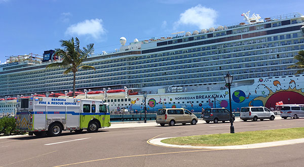 One Crew Member Dies After Cruise Ship Lifeboat Accident - Norwegian breakaway cruise ship