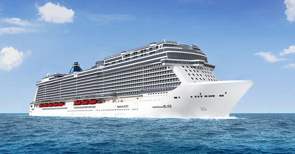 New Alaska Themed Norwegian Bliss Cruise Ship To Homeport