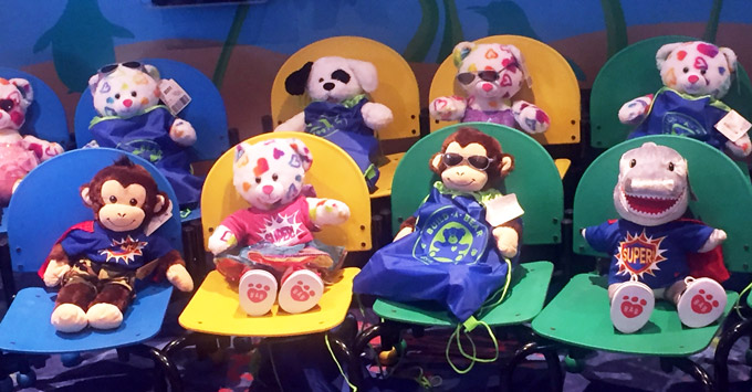 Build-a-Bear on Carnival Legend