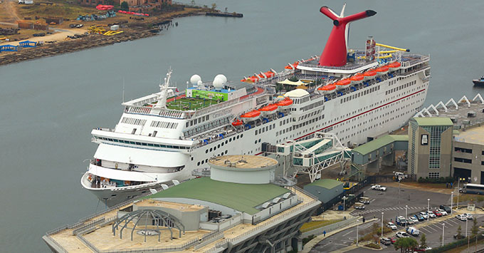 Carnival Cruise Lines Returns To Mobile With Fantasy Fanfare - Cruise ship mobile alabama