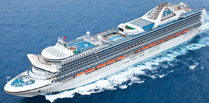 Princess Cruise Ship Sustains Damage Cuts Itinerary Short