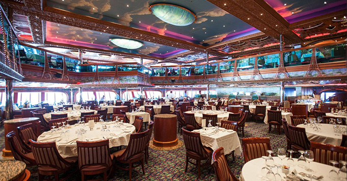 Carnival Cruise Line Tests New Dining Times, Asks Late ...