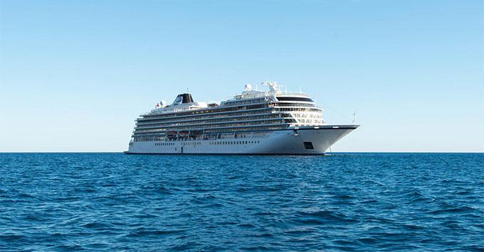 Viking Cruises Celebrates Float Out Of Viking Sun