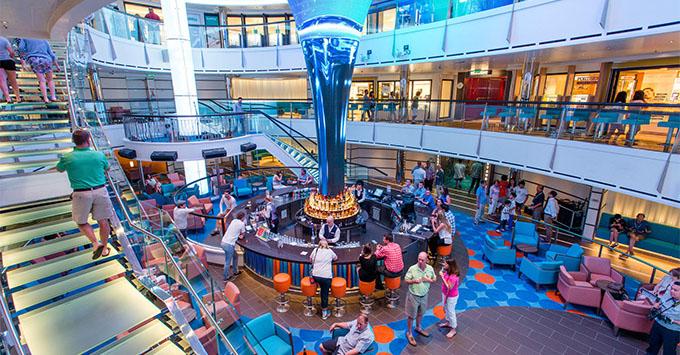 Atrium on Carnival Vista