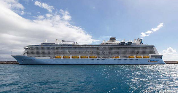Update Royal Caribbean Ends Anthem Of The Seas Cruise Due