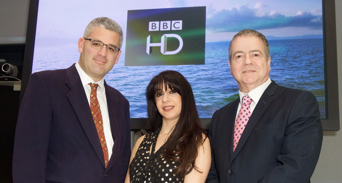 launch of BBC HD Channel