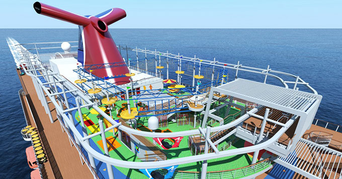 Carnival Announces 2018 Schedule For Newest Cruise Ship