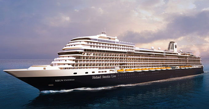 Holland America Lays Keel for Nieuw Statendam