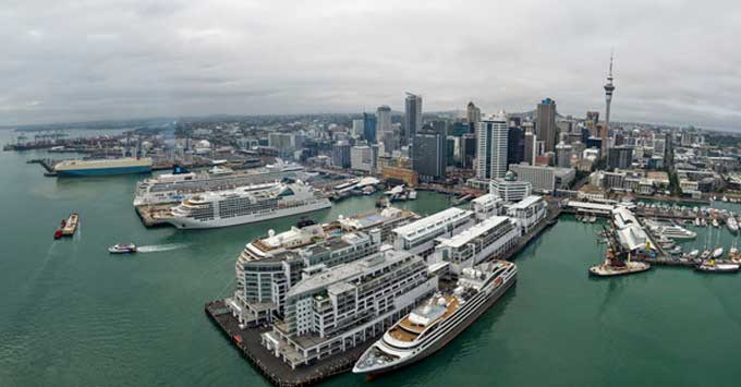 Auckland Council Approves Queens Wharf Upgrade to Moor World's Largest Cruise Ships