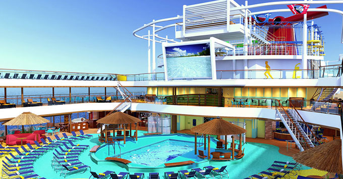Carnival Horizon To Sail FourNight Bermuda Cruises From New York - Cruise ship bermuda