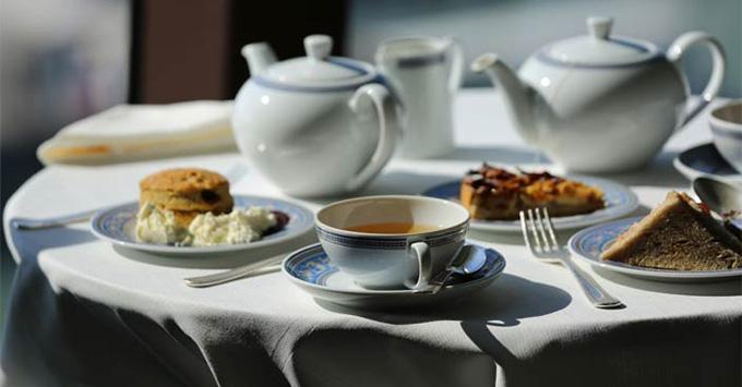 Afternoon Tea on Oceania Cruises