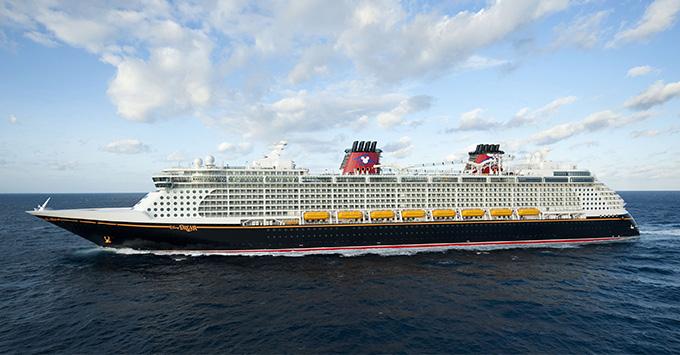 Disney Dream exterior shot