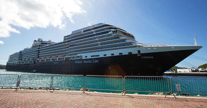 Eurodam in St. Thomas