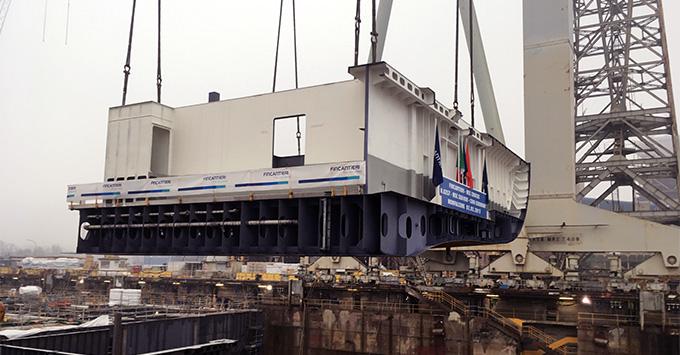 Construction Begins on MSC Cruises' MSC Seaview