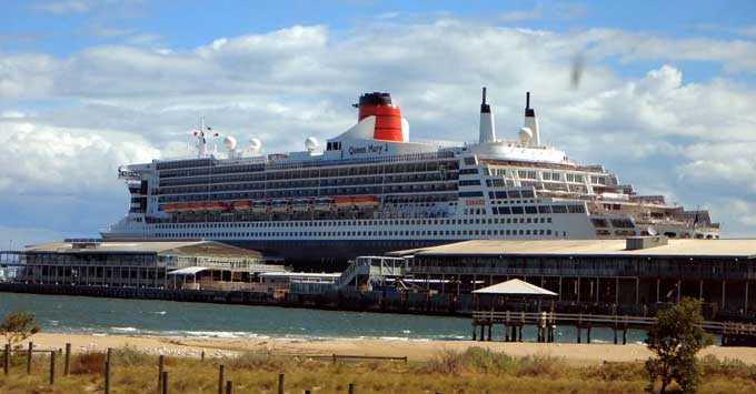 Live From Queen Mary Cruise In Australia Cunard Line Cruise - Princess mary cruise ship