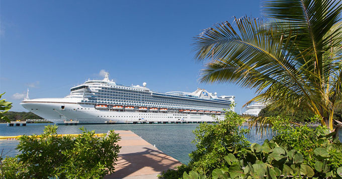 Caribbean Princess Makes Cruise Ship History In Larger Panama - Cruise ship caribbean