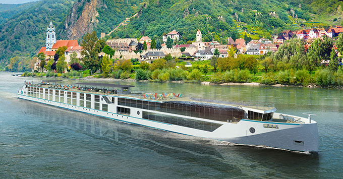 Crystal River Cruises artist concept