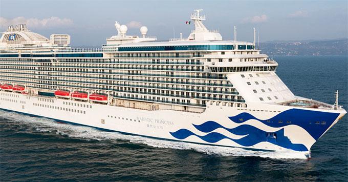Fincantieri Delivers Majestic Princess To Princess Cruises