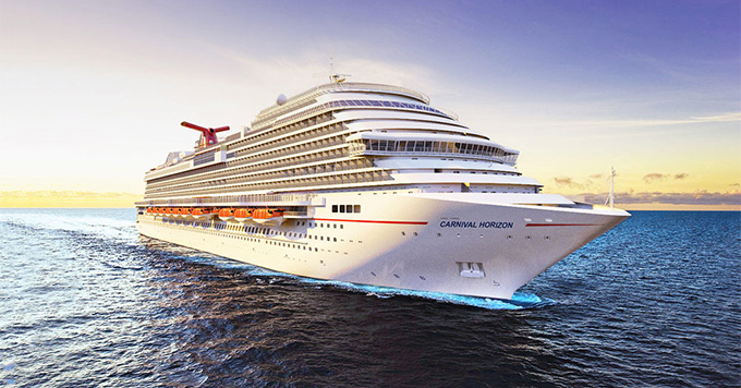 Carnival Holds Coin Ceremony For New Carnival Horizon