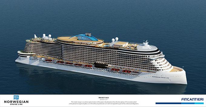 Norwegian Cruise Line Names New Ship Class Project Leonardo - Names for cruise ships
