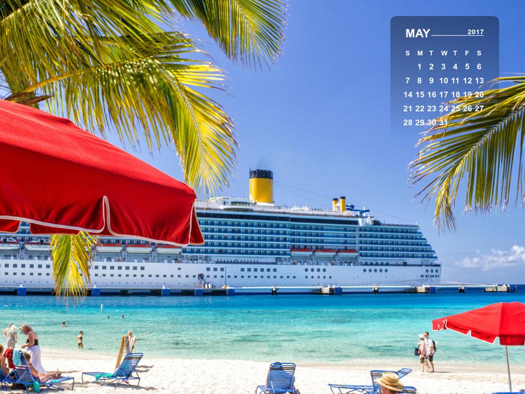 may 2017 calendar desktop/mobile wallpaper