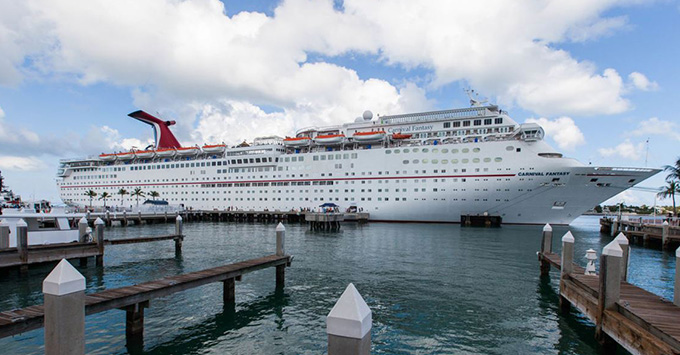 Propulsion Problems Slow Carnival Fantasy Resulting In Cruise To Nowhere