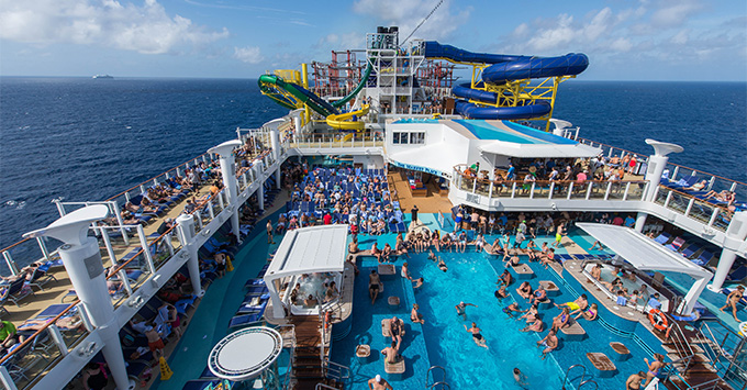 Norwegian Cruise Line Adds Lifeguards