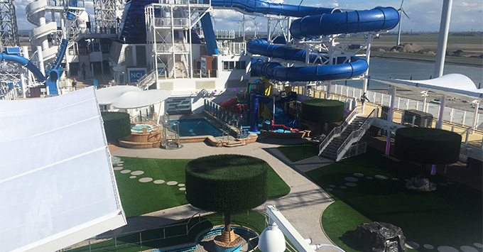 Serenity Park on Norwegian Joy