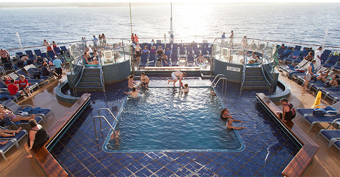 Carnival Opens Aft Pools On Several Cruise Ships To Families