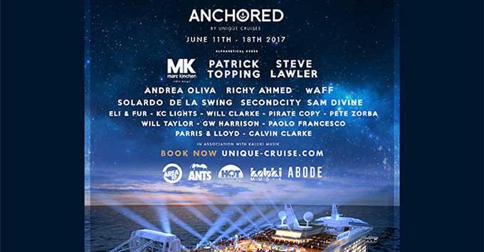 Anchored Unique Cruises