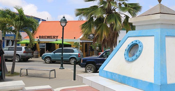 Bonaire Blond Brewery exterior shot