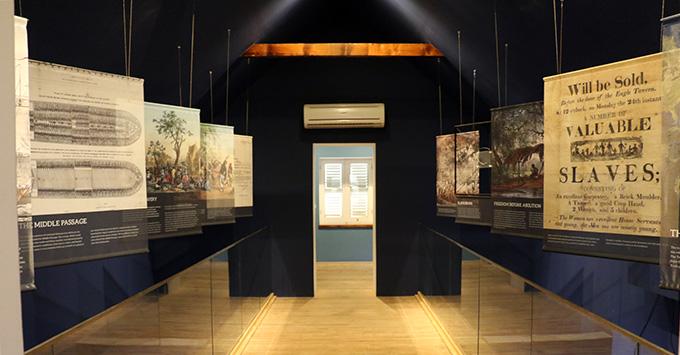 Terramar Museum interior