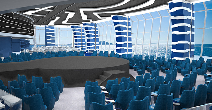 Rendering of the Carousel Lounge