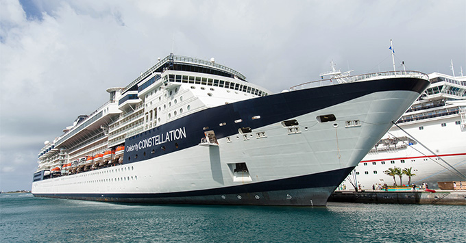 Celebrity Constellation Delayed In Barcelona For Two Days Post Dry - Cruise ship delayed