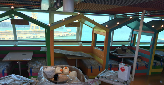 The Snack Shack on TUI Discovery 2