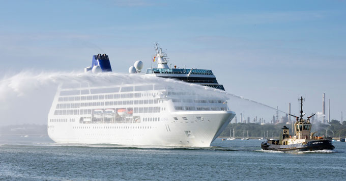 PO Cruises Adonia Cruise Ship Returns To The UK With New - Adonia cruise ship