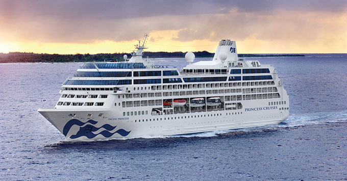 Pacific Princess Emerges From Dry Dock With New Suites And