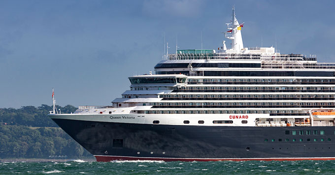 Cunard's luxury liner, Queen Victoria