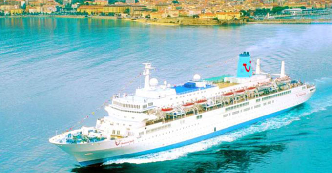Thomson Spirit To Remain With Thomson Cruises Until November 2018 Thomson Cruises