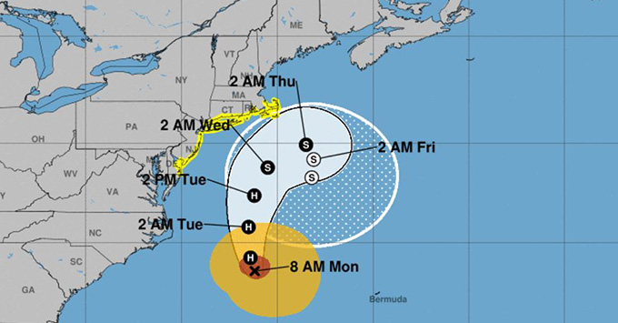 Hurricane Jose Prompts Cruise Ships Itinerary Changes